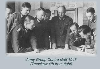 Army Centre staff 1943