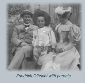 Olbricht with family