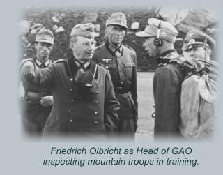 Olbricht reviewing troops