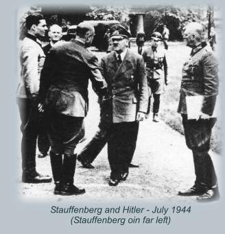 Stauffenberg and Hitler