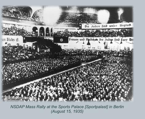 Mass rally in Germany